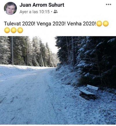 Así espera Arrom al 2020 desde Filandia