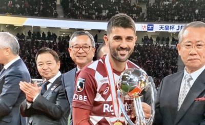 HOY / David Villa dice adiós al fútbol con título en Japón