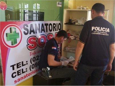Fiscalía imputa a propietaria del Sanatorio Sosa y pide prisión preventiva