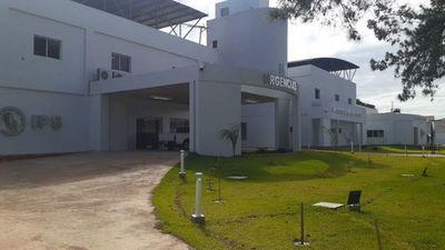 Tras ocho años culminan las obras del hospital del IPS en Pedro Juan