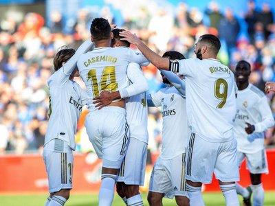 Courtois sujeta al Real Madrid