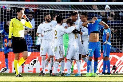 El Madrid gana con un clave Courtois