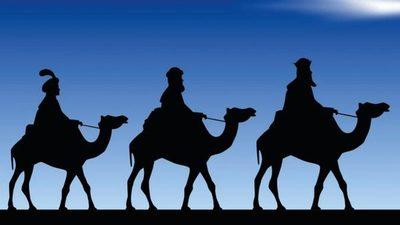 Los tres reyes llegan a Paraguay