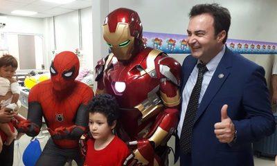 La sorpresa de Reyes que recibieron los niños internados en IPS