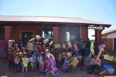 LOS REYES MAGOS TAMBIÉN ESTUVIERON PRESENTES EN LA COMUNIDAD INDÍGENA ARASA POTY