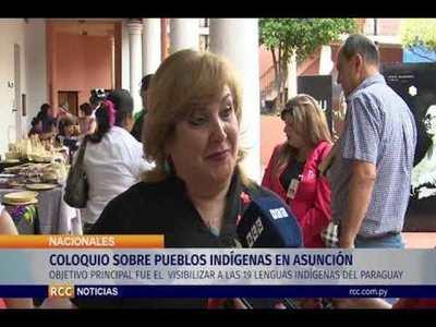 COLOQUIO SOBRE PUEBLOS INDÍGENAS EN ASUNCIÓN
