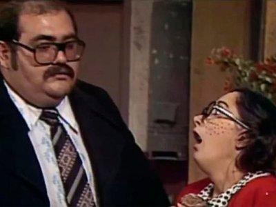 Sorpresivo beso entre la Chilindrina y el Señor Barriga