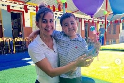 Jessica Sly celebró los 4 añitos de su hijo