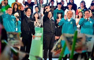Presidenta de Taiwán logra su reelección