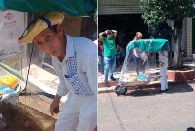 La sorpresa que recibió Don Isidoro, el admirable vendedor de frutas