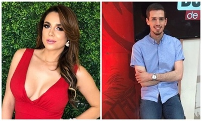 Panelista de Tv le tocó la cola a Vivi Figueredo