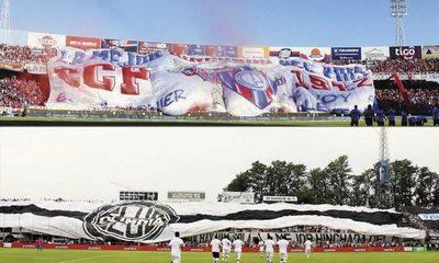 Olimpia y Cerro piden jugar el clásico de local y sin público visitante