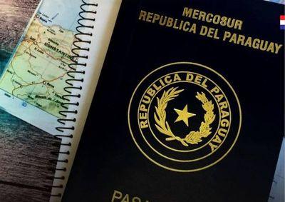El pasaporte paraguayo es rankeado entre los que ofrecen más ventajas