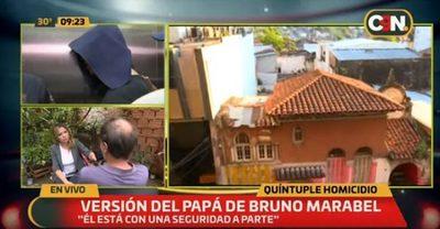 Padre de Bruno Marabel cuenta versión de su hijo sobre la masacre en el microcentro