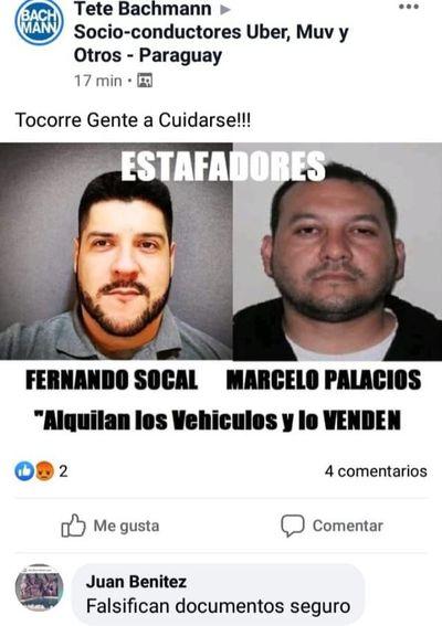 Denuncian por estafa al hermano del tortolero Hugo Socal