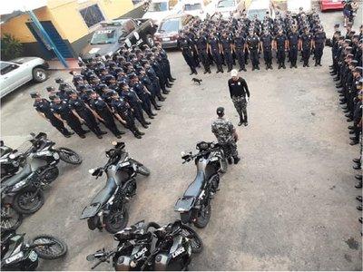 Grupo Lince alista en sus filas a las 30 primeras mujeres policías