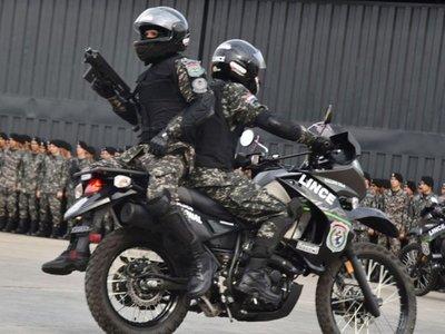 Balean a agentes del Grupo Lince durante persecución en Asunción