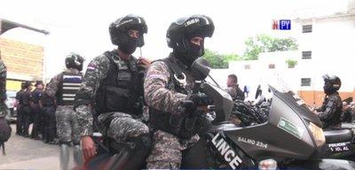 Agentes del Grupo Lince son baleados en Asunción