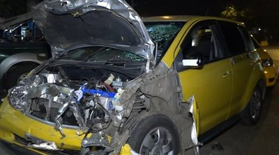 Taxista muere tras accidente fatal sobre Acceso Sur