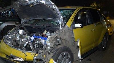 Taxista muere tras accidente sobre Acceso Sur
