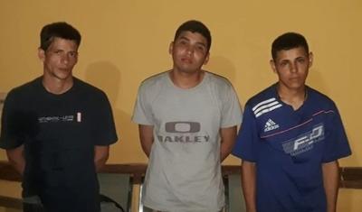 Horqueta: Recapturan a otros 3 reos fugados