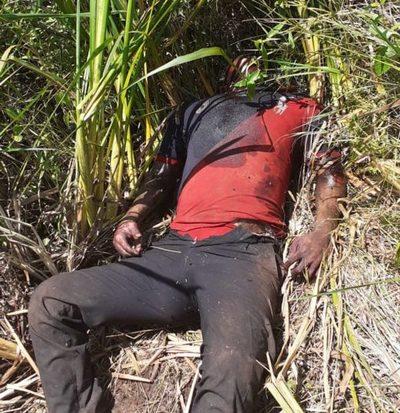 Hallan cadáver de un hombre en el km 10 Monday