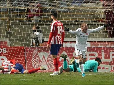 Atlético es eliminado de la Copa del Rey por un equipo de Tercera