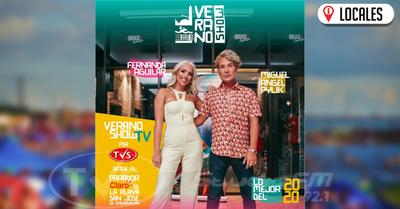 """Desde hoy """"Verano Show Tv"""" acompaña tus fines de semana por las pantallas de TVS"""
