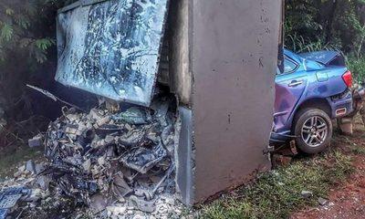 Joven pierde la vida tras embestir contra un cartel en Hernandarias