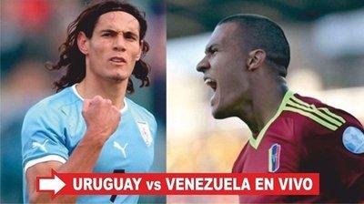 Venezuela vs Uruguay en vivo Copa América Centenario 2016