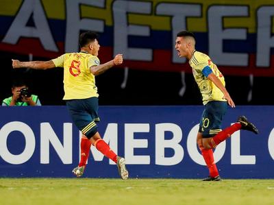 Colombia gana y definirá el segundo cupo con Chile