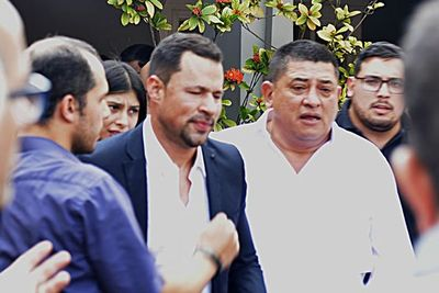 Ulises Quintana logró despedirse de su padre
