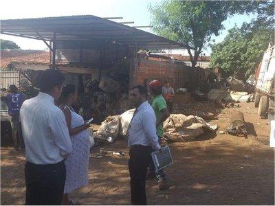 Fiscalía investigará a dueños de terrenos baldíos en Fernando de la Mora