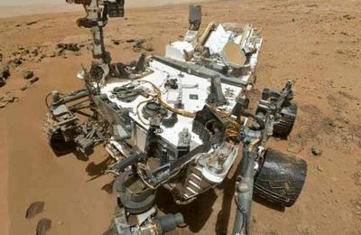 El antes y después: así está el Curiosity después de casi ocho años en Marte