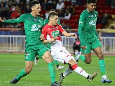El Mónaco, eliminado por el Saint Etienne de la Copa de Francia
