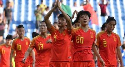 La selección china femenina de fútbol en cuarentena en Australia