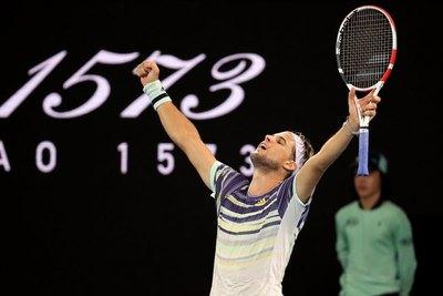 Thiem elimina a Nadal y pasa a 'cuartos' del Australian Open