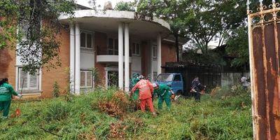 Municipalidad de Asunción interviene inmueble en Villa Aurelia