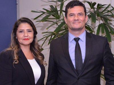 Cecilia Pérez se reunió en Brasil con Sergio Moro para fortalecer seguridad