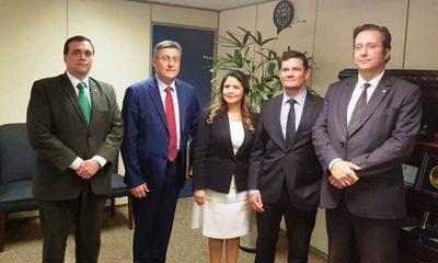Ministros de Justicia de Paraguay y Brasil coordinan profundizar colaboración en sistema penitenciario