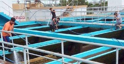 Barrios de Asunción sin agua
