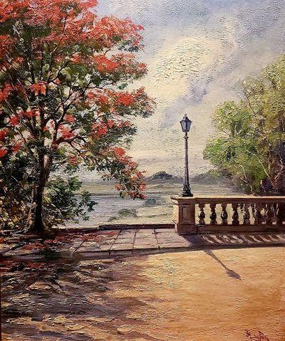 """""""La vieja pintura del parque y Délfor"""" o """"yo no sé por qué"""""""