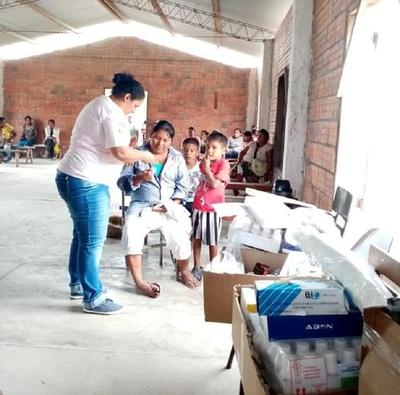 Salud Pública brindó asistencia a comunidades indígenas de difícil acceso del Chaco
