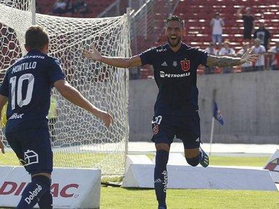 La U de Chile, con Larrivey en punto dulce, recibe al Inter de Paolo Guerrero