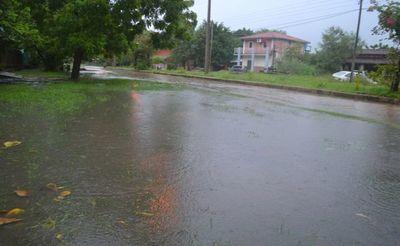 Lluvias de  hasta 150 mm   en el Alto Chaco
