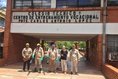 Senepa elimina criaderos y fumiga centros educativos de Asunción