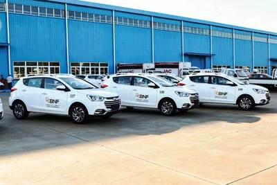 BNF adquiere 11 vehículos de Reimpex •