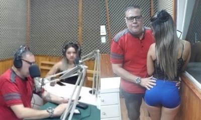 """Dailu Gómez, la chica de los """"100 mil dólares"""" visitó el """"Manicomio""""."""