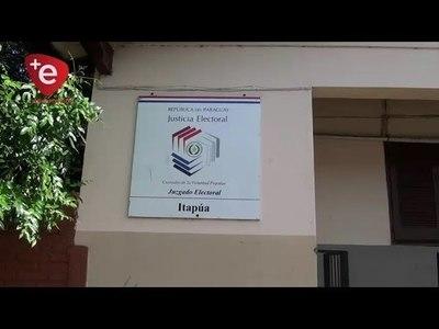 EN ITAPÚA, JUZGADO ELECTORAL TIENE 1.500 PEDIDOS DE TACHAS DE ELECTORES