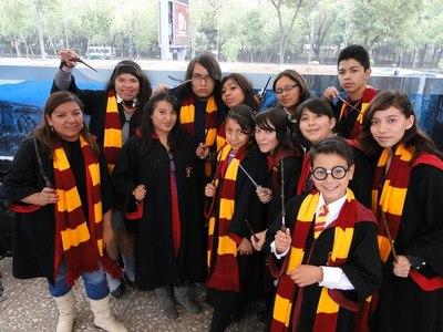 """Cientos de magos por un día para celebrar la saga """"Harry Potter"""" en Argentina"""